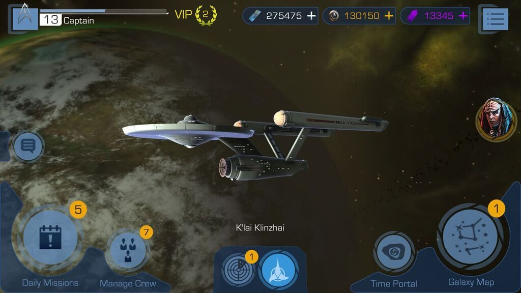 A great 3d star trek game.